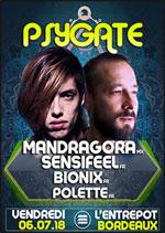 Affiche Psygate@mandragora