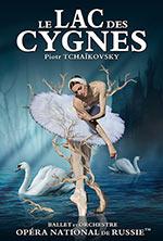 Affiche Le lac des cygnes