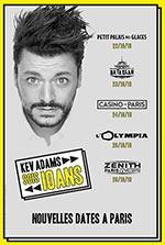 CASINO PARIS PACKAGES KEV ADAMS