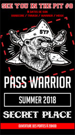 Affiche Warrior pass
