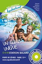 Affiche Aquaboulevard - vente flash