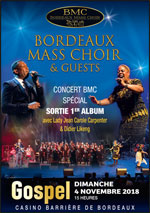 Affiche Bordeaux mass choir
