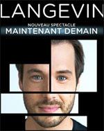 Affiche Luc langevin - maintenant demain