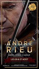 Affiche Andr㉠rieu - amore