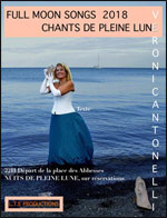 Affiche Chants pleine lune/full moon songs