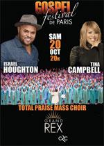Affiche Gospel festival de paris