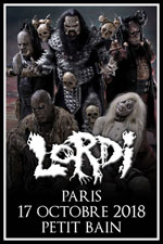Affiche Lordi + guests