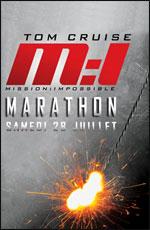 Affiche Marathon mission impossible