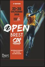 Affiche Open brest credit agricole