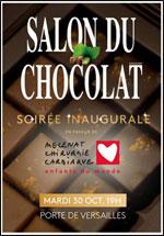 Affiche Salon du chocolat paris