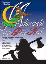 Affiche Melisande et le pere noel