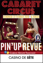 Affiche Pin'up revue cabaret circus