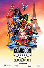 Affiche Comic con paris 2018