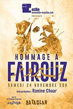 Affiche Hommage a fairouz
