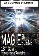 Affiche Magie en scene