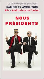 Affiche Nous presidents