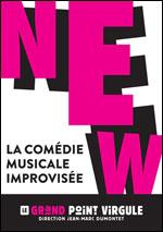 Affiche New-la comedie musicale improvisee