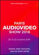 Affiche Paris audio video show 2018