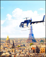 Affiche Vol decouverte en helicoptere