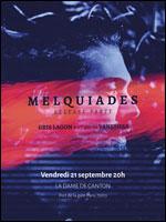 Affiche Melquiades + gris lagon