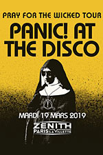 Affiche Panic! at the disco