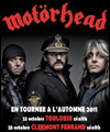 ticket place de concert MOTORHEAD
