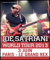 R�servation JOE SATRIANI