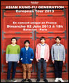R�servation ASIAN KUNG-FU GENERATION