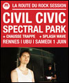 R�servation CIVIL CIVIC + SPECTRAL PARK