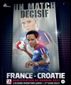 R�servation FRANCE / CROATIE