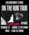 R�servation BEYONCE & JAY Z:BUS CHALON+CONCERT