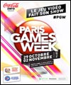 R�servation PARIS GAMES WEEK