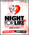 R�servation FESTIVAL NIGHT FOR LIFE