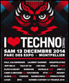 R�servation I LOVE TECHNO FRANCE 2014