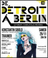 R�servation DE DETROIT A BERLIN