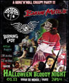 R�servation HALLOWEEN BLOODY NIGHT
