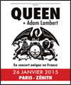 R�servation QUEEN + ADAM LAMBERT