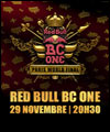 R�servation RED BULL BC ONE WORLD FINAL