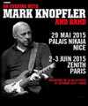 ticket place de concert MARK KNOPFLER