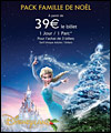 R�servation OFFRE NOEL DISNEY- 1J -2P -MAGIC