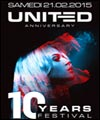 R�servation UNITED 10 YEARS FESTIVAL