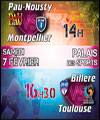 R�servation HANDBALL-16E FINALE COUPE DE FRANCE