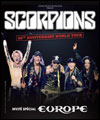 ticket place de concert SCORPIONS