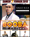 R�servation BOOBA LIVE PERFORMANCE