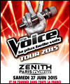 R�servation THE VOICE TOUR 2015