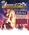 R�servation JEANNE D'ARC SPECTACLE MONUMENTAL