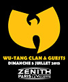 R�servation WU-TANG CLAN & GUESTS