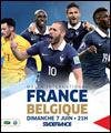 Football : France/Belgique