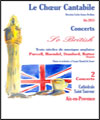 "R�servation CONCERT ""SO BRITISH"""