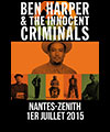 R�servation BEN HARPER & THE INNOCENT CRIMINALS